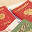 Fees before you travel. Things not to forget : passport, tickets — Stock Photo #71433557