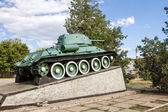 Monument to the T-34 — Stock Photo