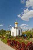 Small Orthodox chapel — Stock Photo