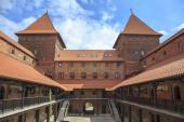 The Castle of Teutonic Order in Nidzica, Poland — Stock Photo