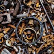 Rusty nuts and bolts background — Stock Photo #54162933