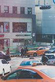 On the way in Seoul Korea — Stock Photo