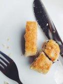 Пирог с черникой — Стоковое фото