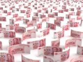Rozproszone chińskiego juana — Zdjęcie stockowe