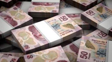 Mexican Pesos — Stock Video