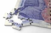 English Pound Puzzle — Stock Photo