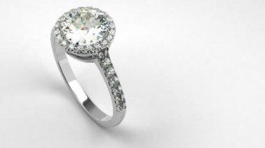 Precious Diamond Ring — Stock Video