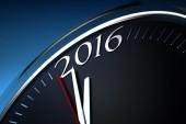Last Minutes to 2016 — Stock Photo
