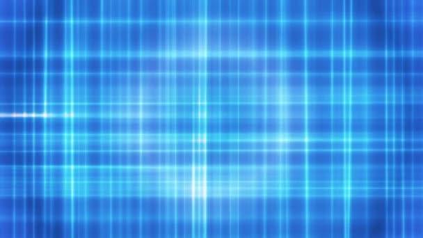 Difusión de intersección de líneas de alta tecnología 05 — Vídeo de stock