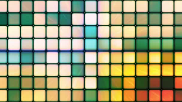 Cubos de alta tecnología difusión centelleo 03 — Vídeo de stock