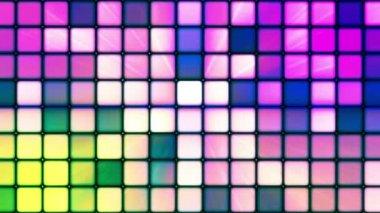 Broadcast Twinkling Hi-Tech Cubes 06 — Stock Video