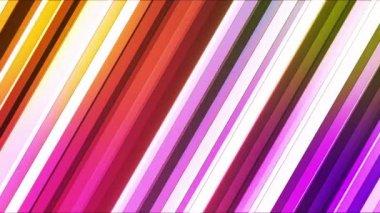Broadcast Twinkling Slant Hi-Tech Bars 03 — Stock Video