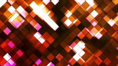 Broadcast Twinkling Squared Diamonds 07 — Stock Video