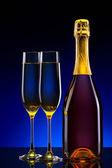 Роскошь шампанского фон — Стоковое фото