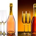 Luxury champagne background — Stock Photo #57475537