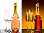 Luxury champagne background — ストック写真