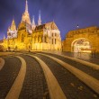 Fishermens bastion in Budapest, Hungary — Stock Photo #71364085