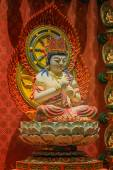 The Lord Buddha in Chinese Buddha Tooth Relic Temple, Singapore — Foto de Stock