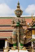 Guardian at Wat Phra Kaew — Stock Photo