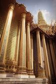 Phra Mondop columns — Stock Photo