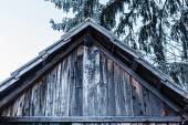 Hoary roof — Stock Photo