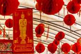 Buddhist decorations — Stock Photo