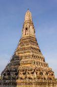 Temple de l'aube détail prang — Photo