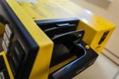 Defibrylator wiosła — Zdjęcie stockowe