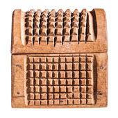 небольшой деревянный сундук — Стоковое фото