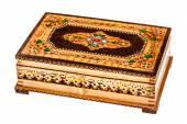 Beautiful wooden box — Stock Photo