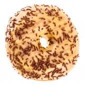 Donut met hagelslag — Stockfoto