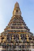 Wat Arun stupa — Stockfoto