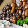 Thai wooden cats — Stock Photo #59246931