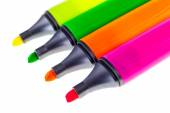 Colorful Markers detail — Stock Photo