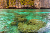 Pristine shallow waters — Stock Photo