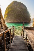 Maya bay view — Stock Photo