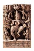 Carved Shiva — Stock Photo