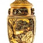 Decorated chinese urn — Stock Photo #67551565