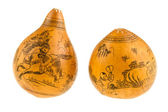 Japanese painted gourds — Fotografia Stock