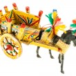 Sicilian cart model — Stock Photo #68533185