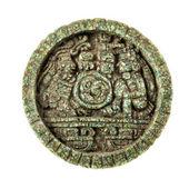 Maya sun stone — Stock Photo