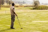 Sunny golf game — Stock Photo