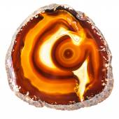Vibrant Agate Geode slice — Stock Photo
