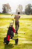 Golf neergeschoten — Stockfoto