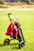 Colorful golf course — Stock Photo