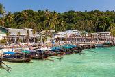 Phi Phi island harbor — Stock Photo