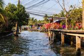 Village on stilts — Stock Photo