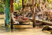 Small thai boat — Stock Photo