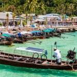 Phi Phi harbor — Stock Photo #72226159
