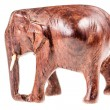 Thai wooden elephant — Stock Photo #73262265